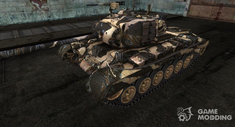 M46 Patton от Rjurik для World Of Tanks