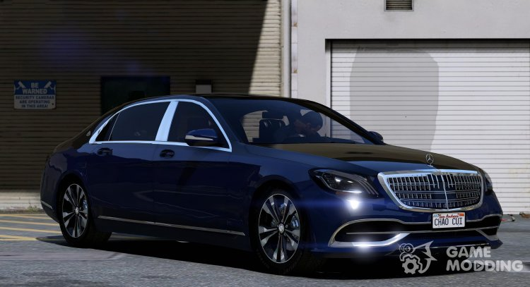 2018 Mercedes-Maybach S650 for GTA 5