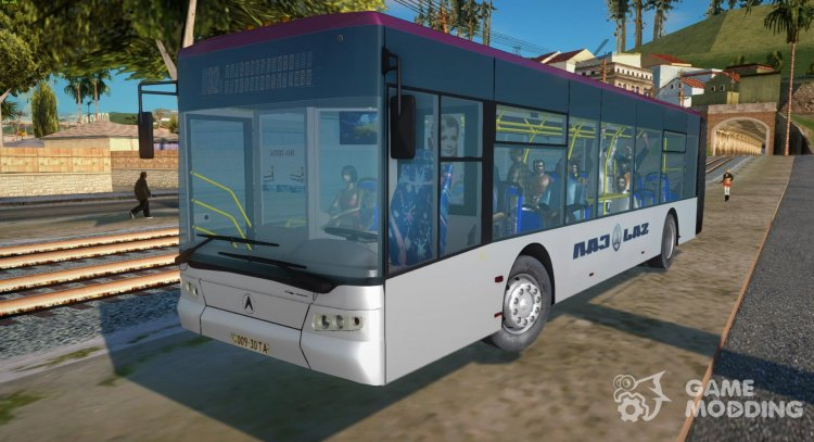 LAZ Е301 Trolley for GTA San Andreas