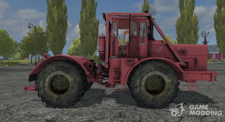 Кировец K-701 Dunkelrot для Farming Simulator 2013