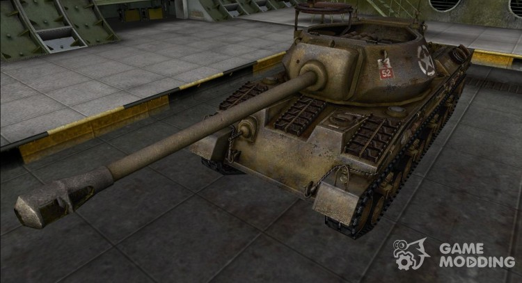 The skin for the Prototype T28 for World Of Tanks