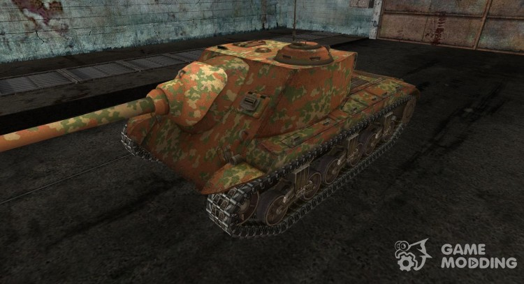 Skin for T25 AT No. 10 for World Of Tanks