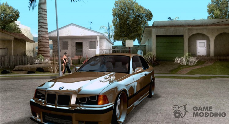 BMW M3 E36 Light Tuning for GTA San Andreas