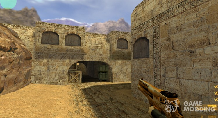 Bronze Deagle for Counter Strike 1.6