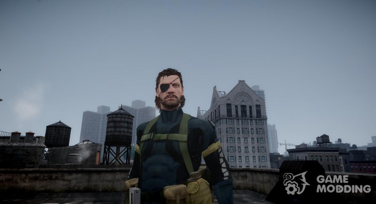 Metal Gear Solid V Ground Zeroes Big Boss V 1 For Gta 4