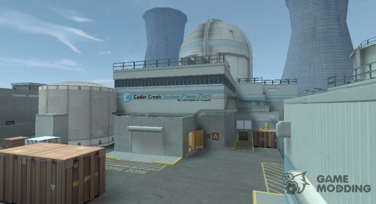 GO: Nuke for Counter Strike 1.6