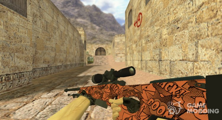 AWP Bach for Counter Strike 1.6