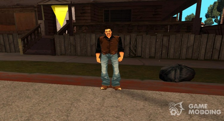 Miguel from GTA 3 for GTA San Andreas