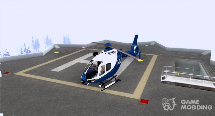 NYPD Eurocopter By SgtMartin_Riggs for GTA San Andreas
