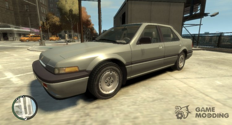 1986 Honda Accord 4-door for GTA 4