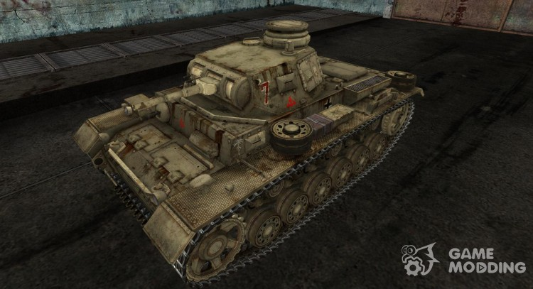 Panzer III from kirederf7 for World Of Tanks