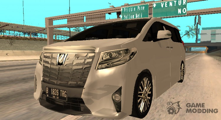 2015 Toyota Alphard 3 5 G V 2 For Gta San Andreas