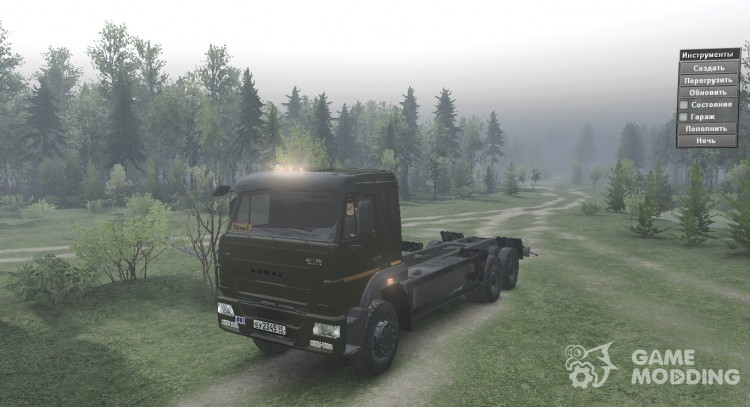 KAMAZ 65117 for Spintires 2014
