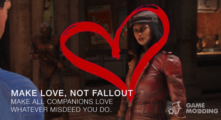 Dogs love you and do not reject for Fallout 4