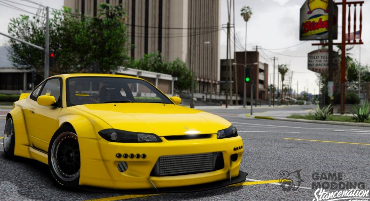 Nissan Silvia S15 Rocket Bunny 2JZ for GTA 5