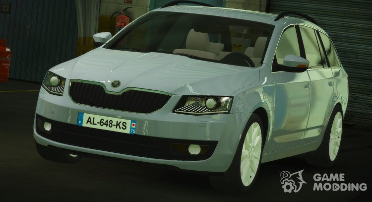 Skoda Octavia Civil for GTA 5