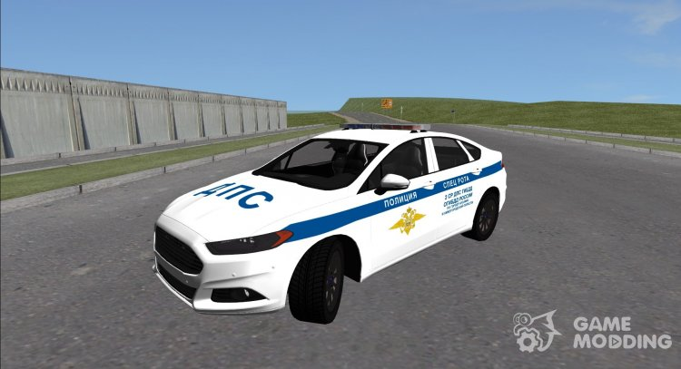 Ford Mondeo-SAT traffic police for GTA San Andreas