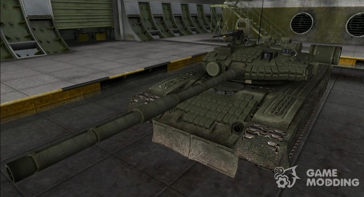 Remodeling t-62A for World Of Tanks