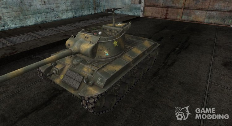 Skin for T25/2 Forest for World Of Tanks