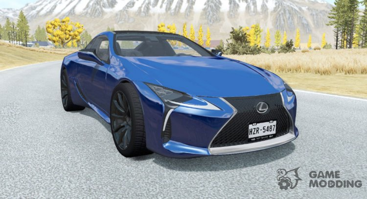 Lexus LC 500 2017 for BeamNG.Drive