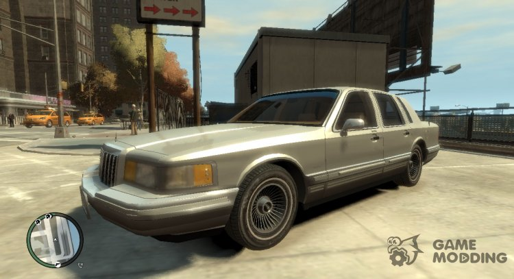 1990 Lincoln Town Car for GTA 4