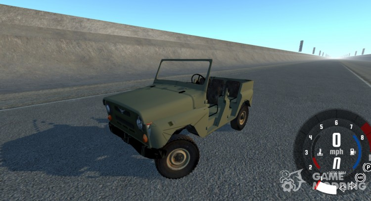 UAZ-469 for BeamNG.Drive