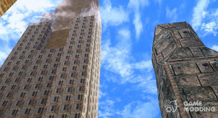 New textures skyscrapers LS for GTA San Andreas