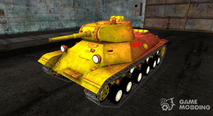 Skin for t-50 Miami for World Of Tanks