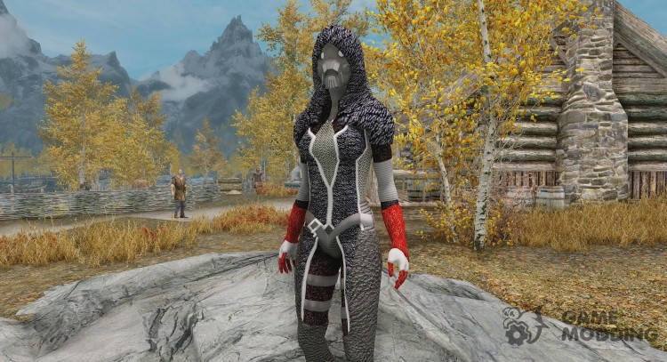N7 Fury Armor for TES V: Skyrim
