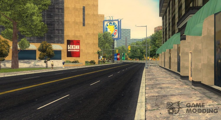GTA V road for GTA 3