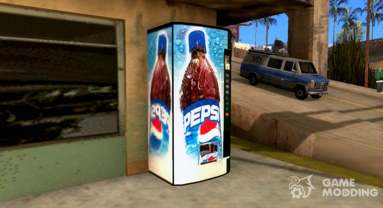 Pepsi mod for GTA San Andreas