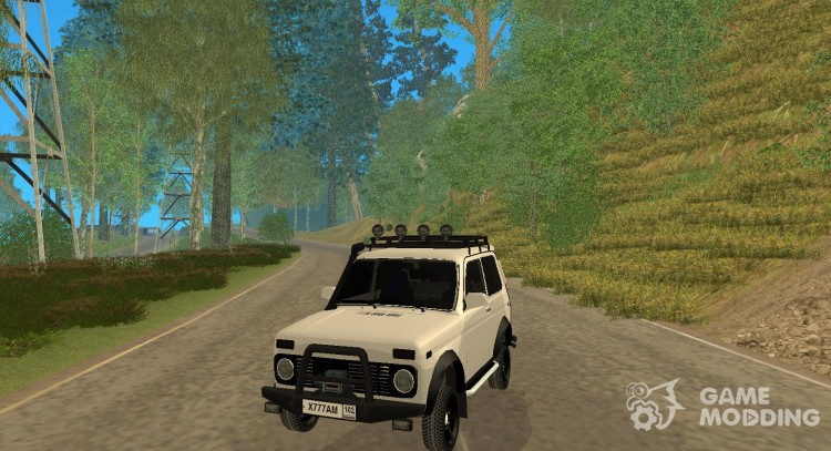 LADA NIVA 21213-OFF-ROAD для GTA San Andreas