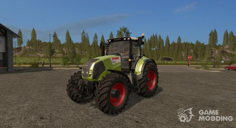 Mod Claas Axion 800 (810, 830, 850) version 3.0 for Farming Simulator 2017