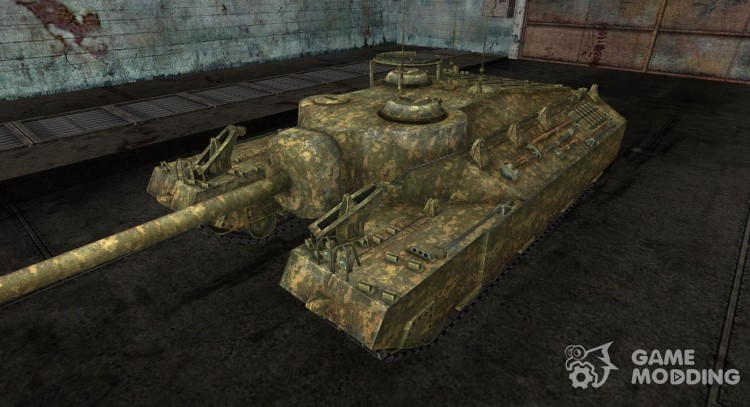 Skin for T95 No. 6 for World Of Tanks