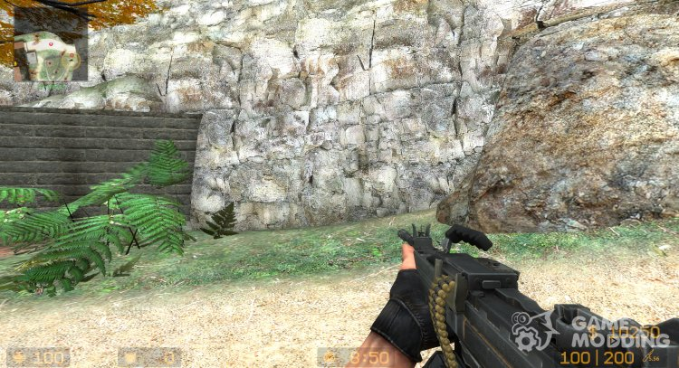 Negev from CS:GO for Counter-Strike Source
