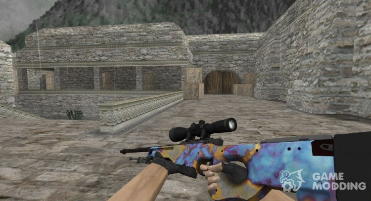 AWP, Case Hardened for Counter Strike 1.6