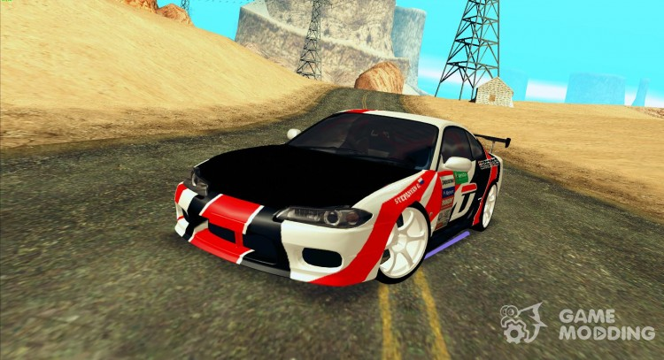 Nissan Silvia S15 Team Dragtimes for GTA San Andreas