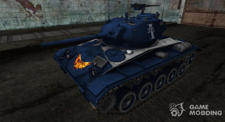 Шкурка для M24 Chaffee (Вархаммер) для World Of Tanks