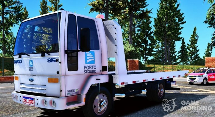 Ford Cargo 815 Tow Truck Porto Seguro for GTA 5