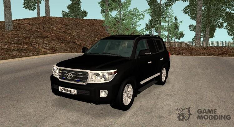 Toyota Land Cruiser 200  Правительство для GTA San Andreas