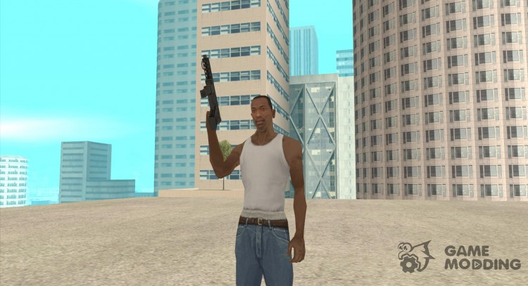 HD Tec9 for GTA San Andreas