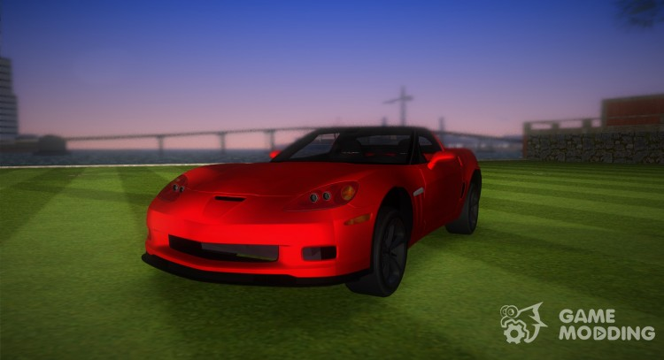 Chevrolet Corvette Grand Sport 2010 TT Black Revel for GTA Vice City