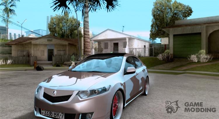 Acura TSX Doxy For GTA San Andreas - Acura tsx mods