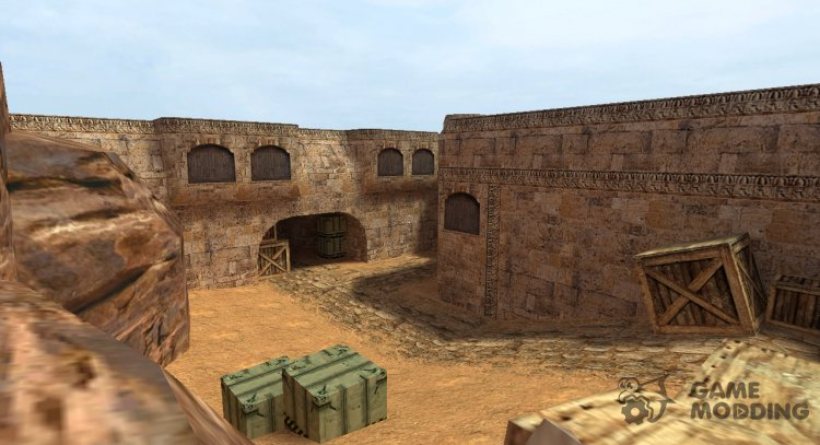 De Dust 2 from CS 1.6 for Counter-Strike Source