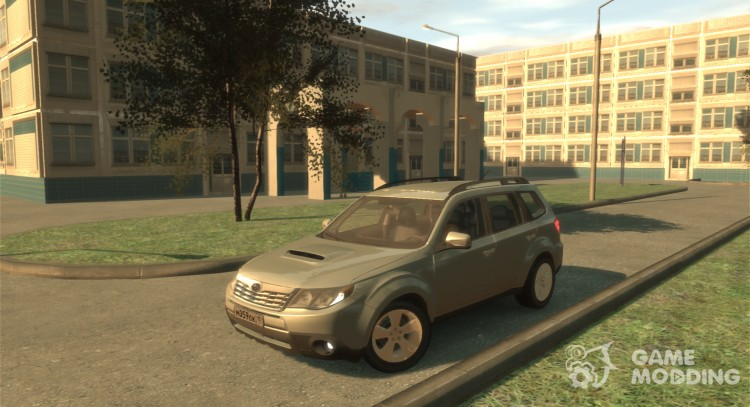 Subaru Forester 2008 for GTA 4