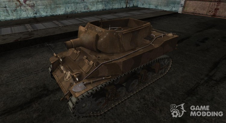 Skin for M8A1 for World Of Tanks