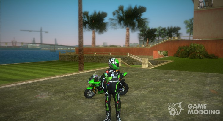 Kawasaki Racer for GTA Vice City