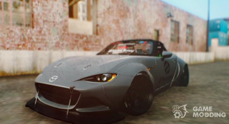 Mazda Mx 5 Miata Rocket Bunny 2017 For Gta San Andreas