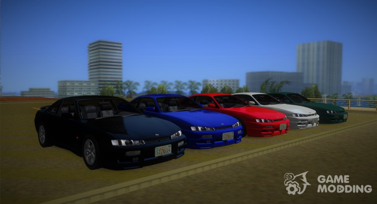 Nissan 200SX s14a for GTA Vice City