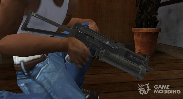 PP-19 BIZON for GTA San Andreas
